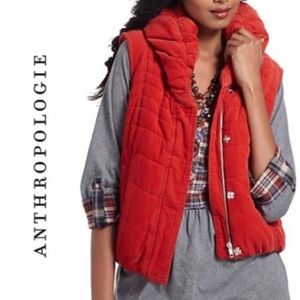 Anthropologie Daughters Liberation Puffer Vest M